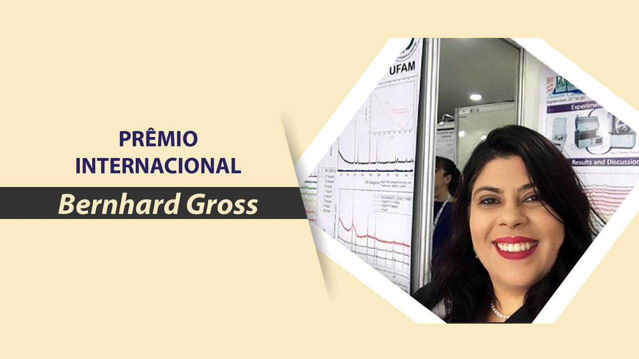 Trabalho produzido por mestranda do PPGCEM foi premiado durante o XVIII Encontro da Sociedade Brasileira de Pesquisa em Materiais